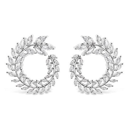 Cubic Zirconia Stud Earrings 139677