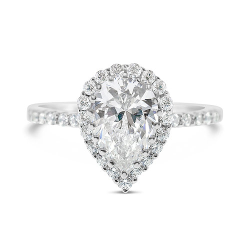 Bitter Sweet Sterling Silver Cubic Zirconia Ring 132996
