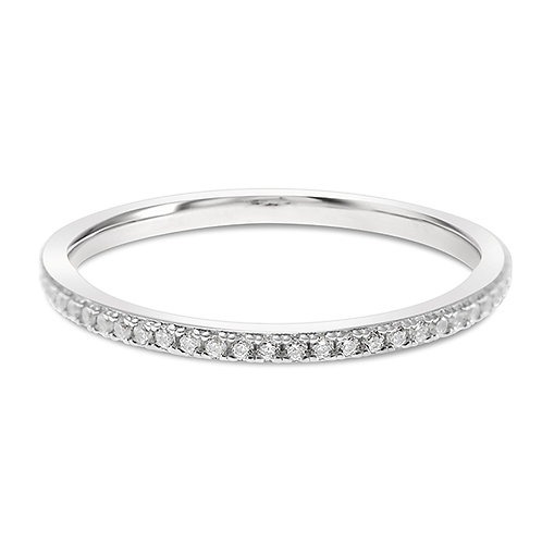 Sterling Silver Cubic Zirconia Ring 140161