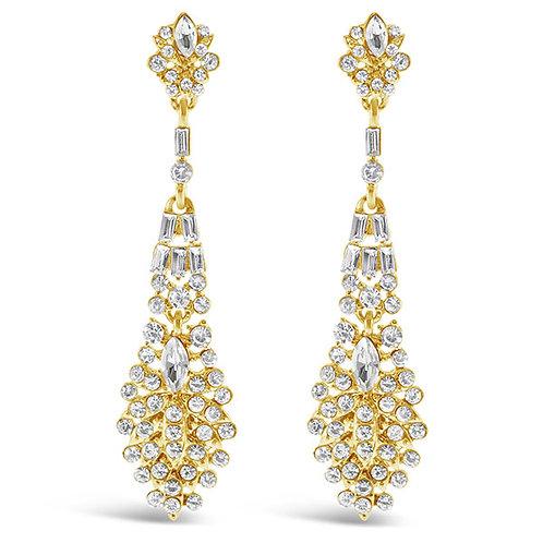 Fashion Crystal Drop Earrings 143578