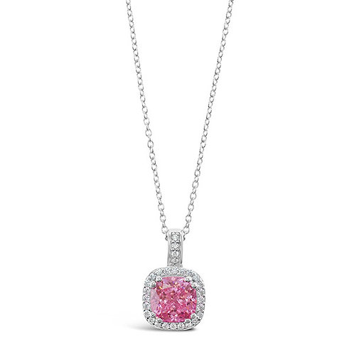 Sterling Silver Cubic Zirconia Necklace 132087-10125191