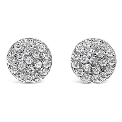Sterling Silver Cubic Zirconia Earrings 129281