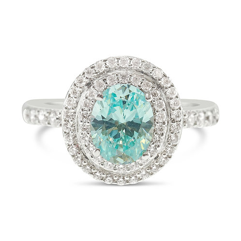 Sterling Silver Cubic Zirconia Ring 129269