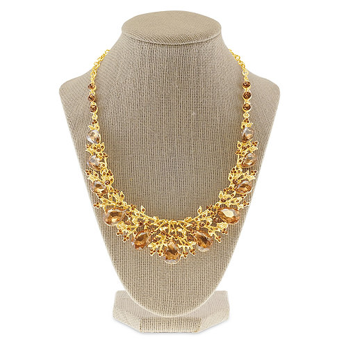 Fashion Crystal Necklace & Earrings Set 142374