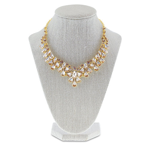 Fashion Crystal Necklace & Earrings Set 142250
