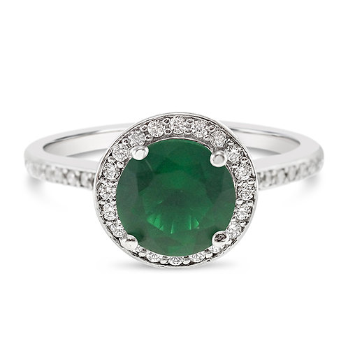 Bitter Sweet Sterling Silver Cubic Zirconia Ring 131215-841