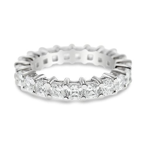 Bitter Sweet Sterling Silver Cubic Zirconia Ring 131756