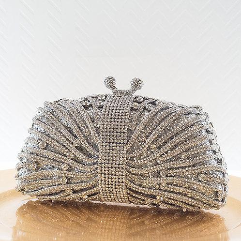 Silver Crystal Clutch 143559