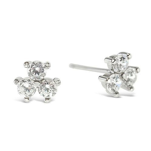 Sterling Silver Cubic Zirconia Earrings 141755