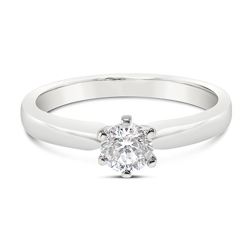 Bitter Sweet Sterling Silver Cubic Zirconia Ring 122632