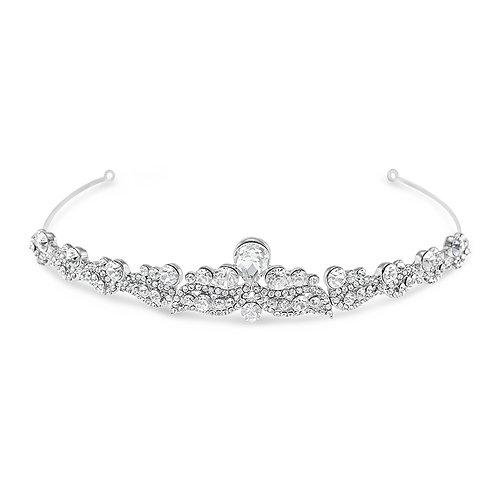 Bridal Silver Vintage Tiara 142056