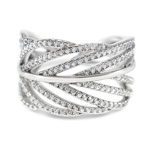 Sterling Silver Cubic Zirconia Ring 143212