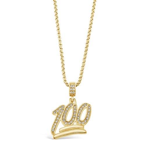 Bitter Sweet Jewellery Stainless Steel Gold Necklace 136318