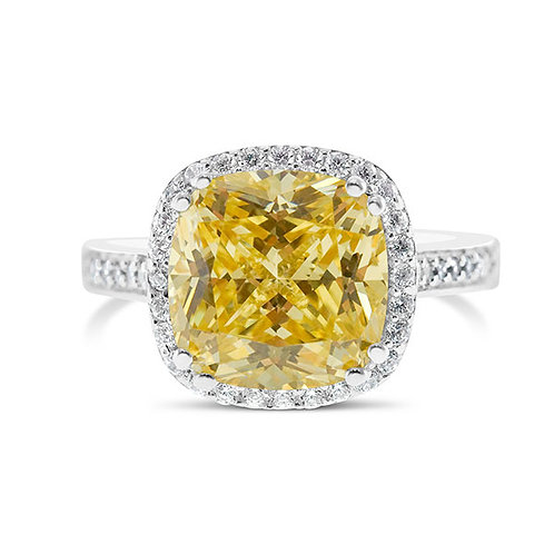 Sterling Silver Cubic Zirconia Ring 132086-10125170