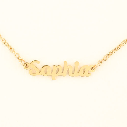 Marina De Buchi Personalized Necklace Sophia 140387