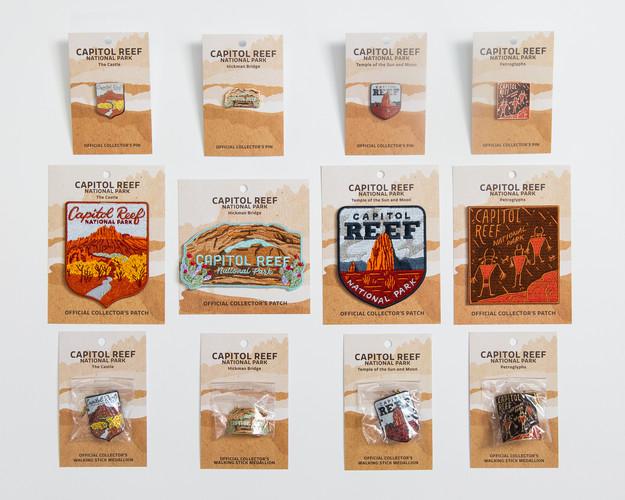 Capitol Reef Series on Display Cards