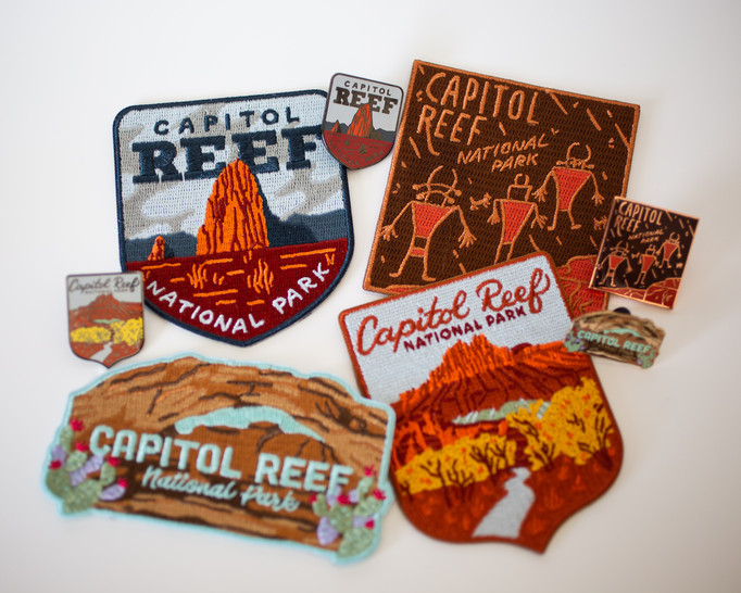 Capitol Reef Series Pins & Patches