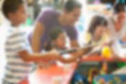 Kids Playing Carnival Game