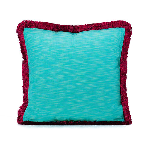 Manuel Canovas Pillow With Houles Brush Fringe