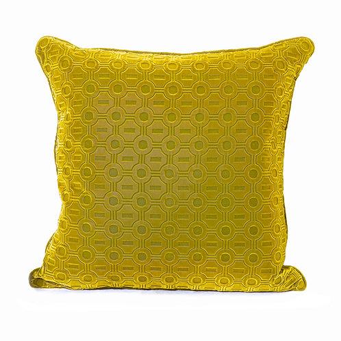 Brochier Embossed Velvet Pillow