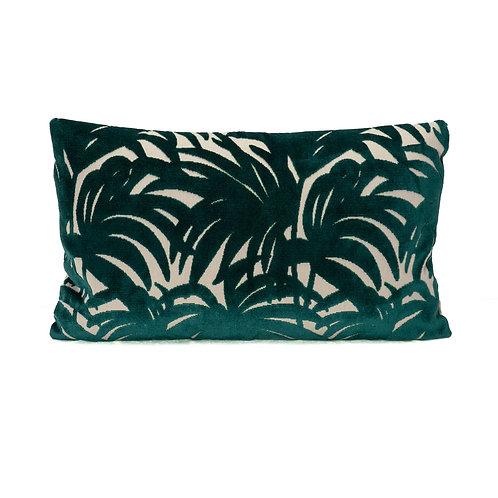 Camengo Cut Velvet Lumbar Pillow