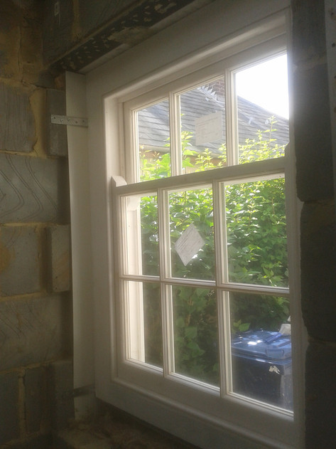 Sash window for extension to victorian terrace. Marston, Oxoford.