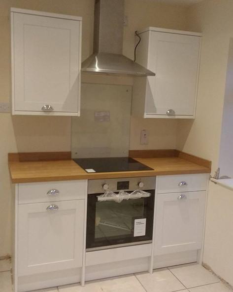 New kitchen. Coombe, Oxon.