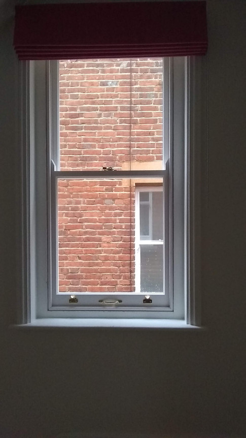 New sashes & draught proofed beading, North Oxford