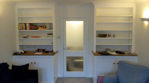 Bookcases and cupboards. Summertown, North Oxford