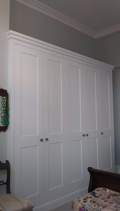 Fitted wardrobes, North Oxford