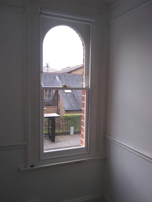 New sashes & draught proofed beading in original box frame, Iffley Oxford