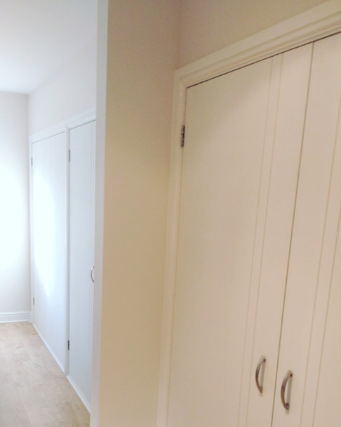 Fitted wardrobes. new build, Cumnor Hill, Oxford.