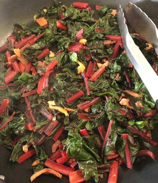 Just A Simple Quick Side Dish, Have You Tried Rainbow Swiss Chard?