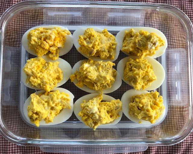 Don't Forget The Deviled Eggs, Maybe My Artichoke Filling? Happy 4th!