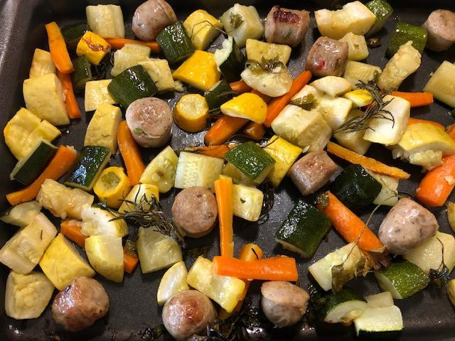 "Heavy On The Veggies, Light On The ""Treat"" Item, Sheet Pan Tips!!"