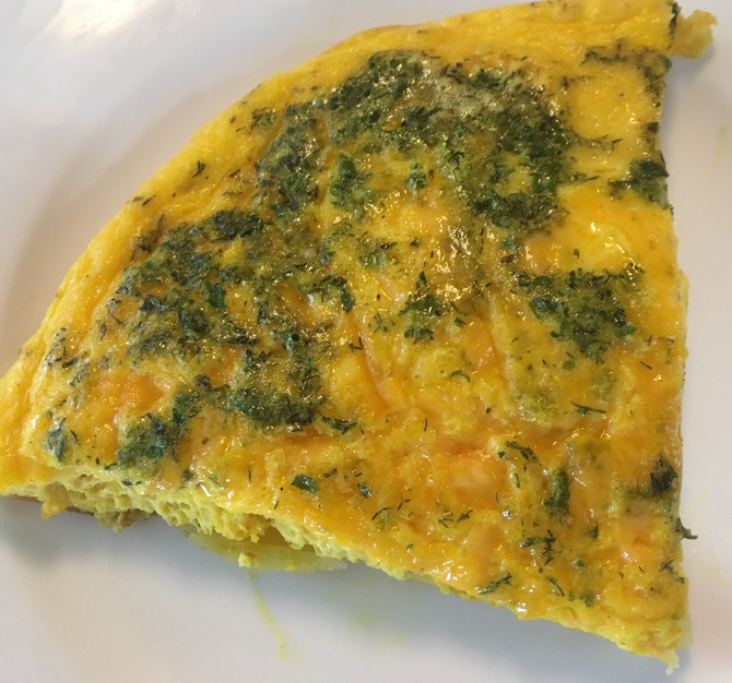 This Ones For Marti, RIP, So Simple Potato And Cheese Frittata