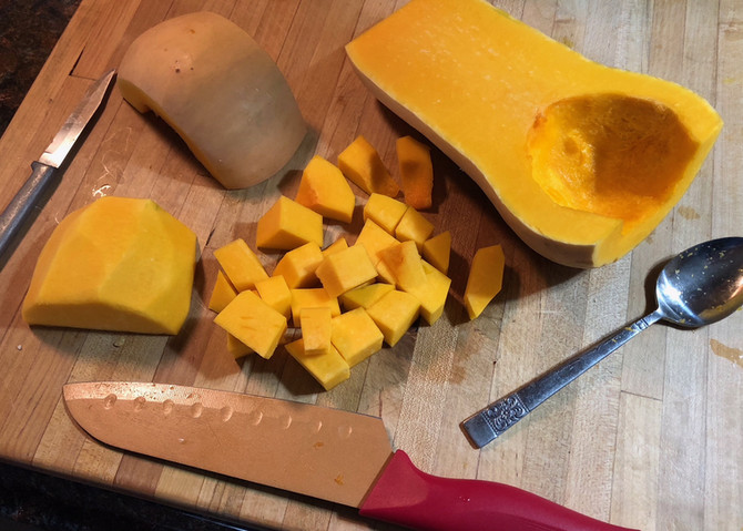 Pre Prepped Butternut Squash Made Simple, If You Have The Inkling To Try!