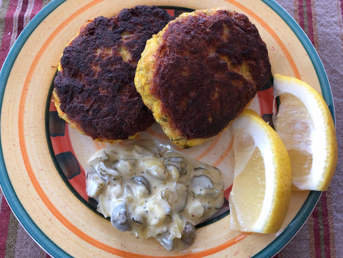 Got Leftover Fish? Any Kind? You Are Halfway There! Today's Haddock Cakes, Tips!!