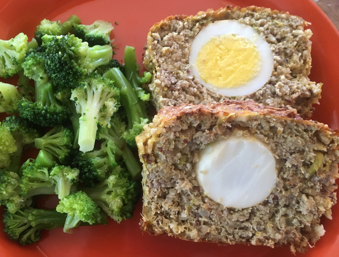 Hard Boiled Egg Stuffed Meat Loafs, Be Amazing To!!!