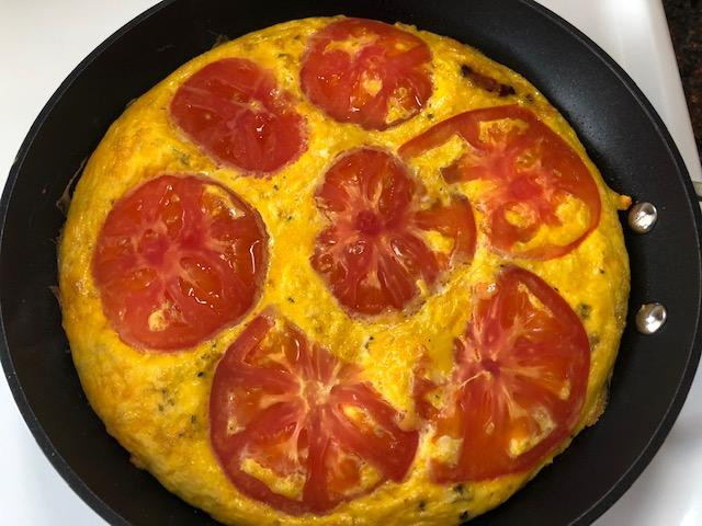 A Favorite Time For Summer Frittata, See For Yourself!