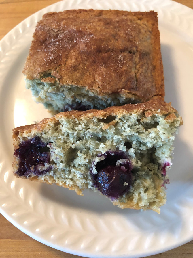 Pauline's Blueberry Coffeecake, I Can Smell It Now, Oh The Memories!! Snakes??