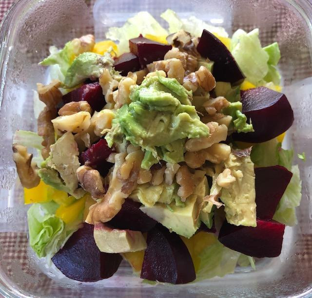 My Vitamins In A Bowl Salad? Salad Tips And Ideas!