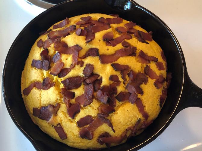 Simple Bacon Pumpkin Cornbread, Anyone Can Do It!!