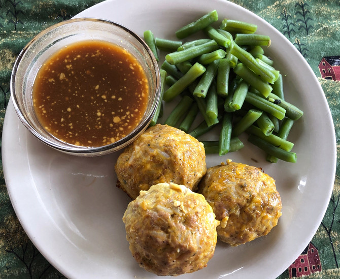 Ground Pork And Rice Balls, A Simple Dipping Sauce, Uses Galore!!