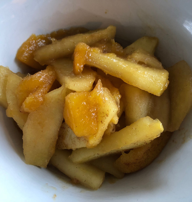 Simply Simple Stewed Fruit, Toss The Sugary Canned!!