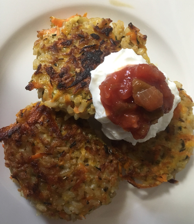 A Brown Rice Shredded Carrot Burger/Pattie Just Might Hit The Spot!!
