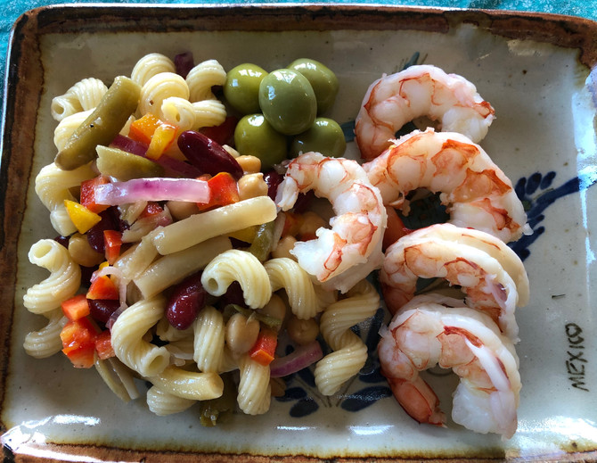 My 12 Minute Pasta Salad, Yours Could be Quicker! Picnic, BBQ Worthy!