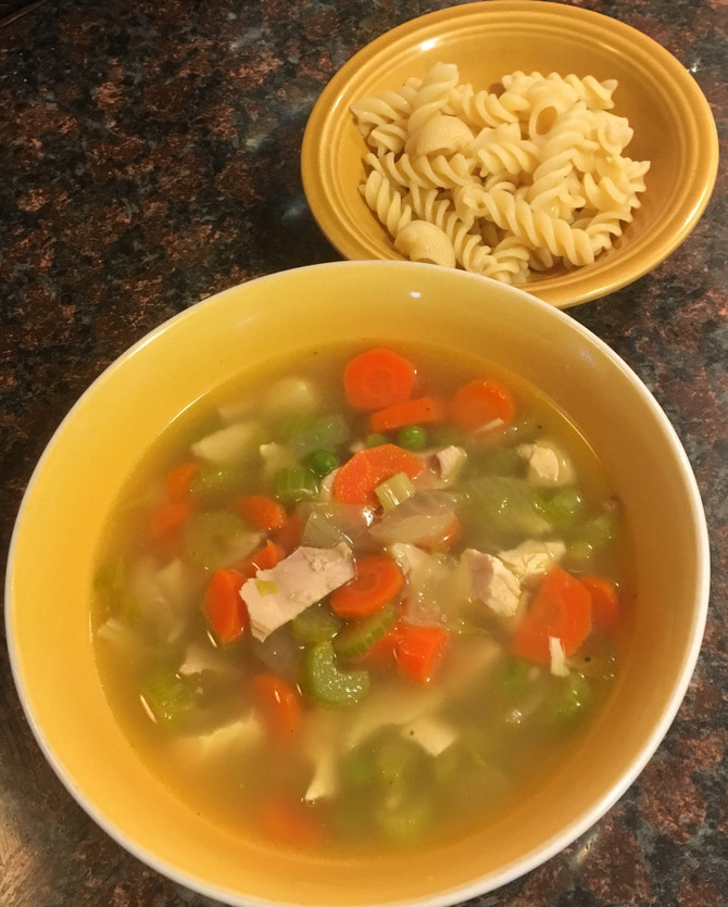 """Mom I Don't Feel Good"" Basic Chicken Soup!"