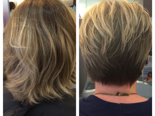 From grown out bob to a cute pixie!