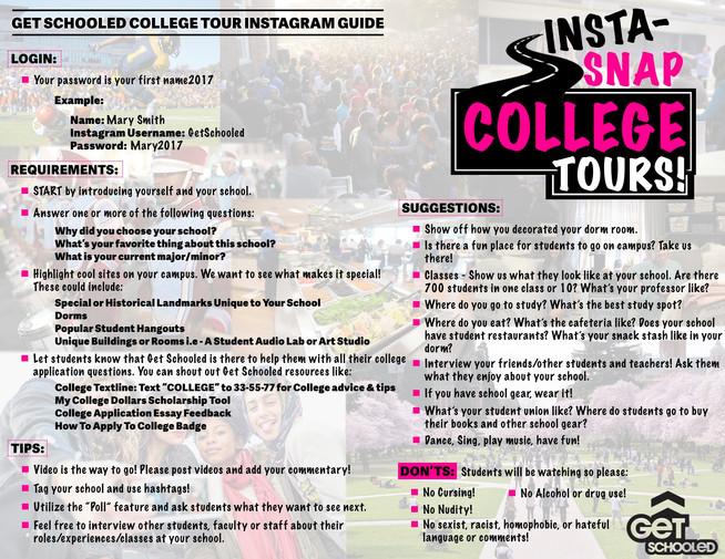 Get Schooled IG Guide